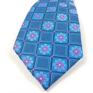 Gorgeous Ted Baker Electric Blue Floral Tie